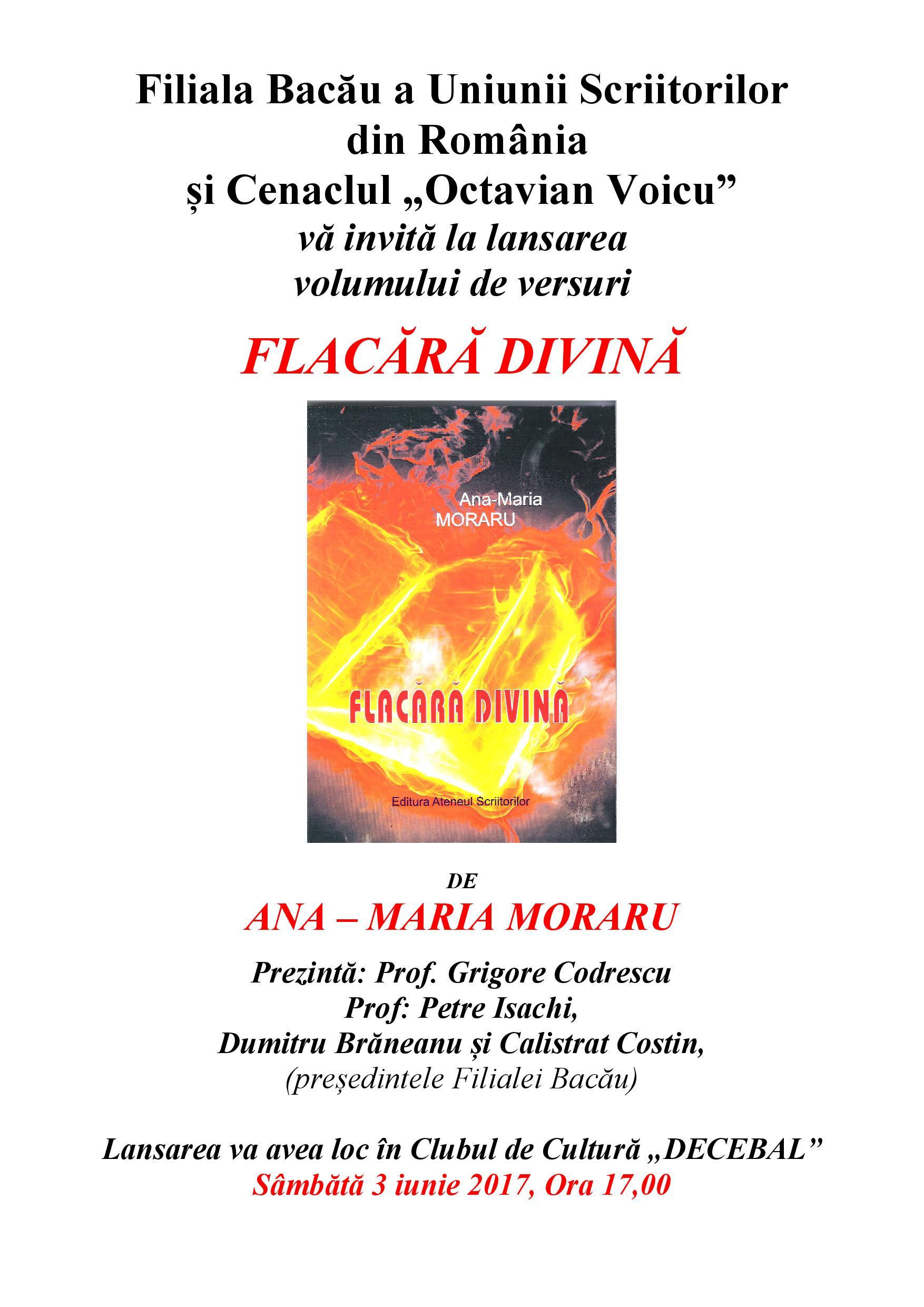 Anamaria Isachi filiala bacau » lansare de carte- 3 iunie 2017- ana – maria