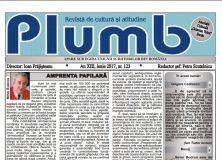 """Revista """"Plumb"""" – iunie 2017"""