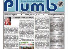 "Revista ""Plumb"" nr. 124 – iulie 2017"