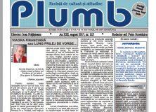 "Revista ""Plumb"" – august 2017"