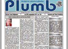 "Revista ""Plumb"" – septembrie 2017"