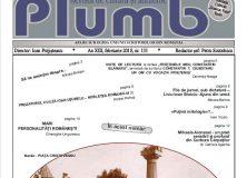 """Revista """"Plumb"""" – nr. 2 februarie 2018"""
