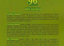 """Revista """"Salonul literar"""" nr. 96."""