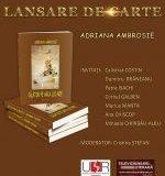 LANSARE DE CARTE-  Adriana Ambrosie- 14 apr. 2018
