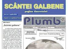 """Revista """"Plumb"""" şi revista """"Scântei Galbene"""""""