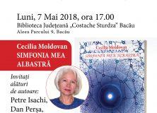 LANSARE DE CARTE-  CECILIA MOLDOVAN/ 7 MAI 2018
