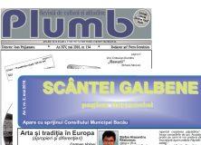 """Revista """"Plumb"""" şi revista """"Scântei Galbene"""" – mai 2018"""