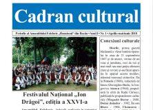 """Revista """"CADRAN CULTURAL"""" – nr. 1"""