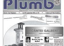 """Revista """"Plumb"""" şi revista """"Scântei Galbene"""" – septembrie 2018"""