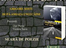 Lansare de carte și seară de poezie – 9 nov. 2018