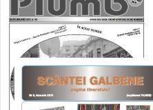Revistele PLUMB și SCÂNTEI GALBENE/ IANUARIE 2019