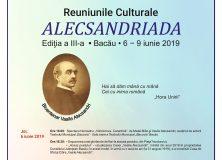 """Vă invităm la Reuniunile Culturale """"ALECSANDRIADA"""""""