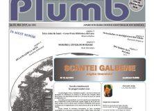 Revistele PLUMB și SCÂNTEI GALBENE/ mai 2019