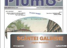Revistele PLUMB și SCÂNTEI GALBENE/ august 2019