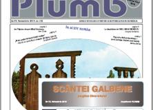PLUMB, SCÂNTEI GALBENE, NOIEMBRIE 2019