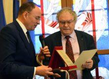 Gheorghe Iorga – Cetățean de onoare al județului Bacău