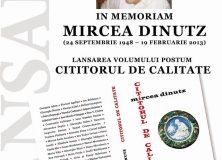 INVITAȚIE – Eveniment MIRCEA DINUTZ la Focșani