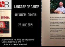 """CENACLUL """"GEORGE BACOVIA"""" – LANSARE DE CARTE"""